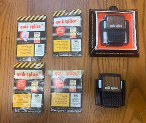 Vintage Quik Splice Super 8mm Film Splicer & Splicing Tapes lot