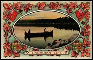 Glorious Canada Patriotic Postcard:1910 National Series 1099 CANADIAN LIFE- pc14