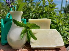 peppermint olive oil natural handmade in Wales🏴soap