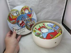 Boston warehouse north pole pal snack plates. NEW