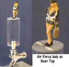 Air force lady  as beer tap