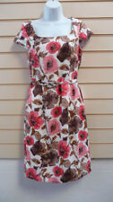 Polyester Casual Floral Kaleidoscope Dresses for Women
