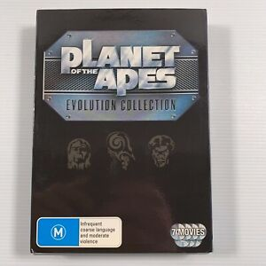 Planet of the Apes: Evolution Collection - 7 Movies (DVD 2012 7 discs) Region 4