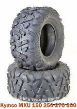 (2) 22x10-10 Kymco MXU 150 250 270 300 Sport ATV Rear Tires Set P350 4PR