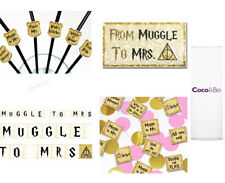 Coco&Bo - Muggle To Mrs Standard Room Party Pack - Team Bride Hogwarts Hen Do