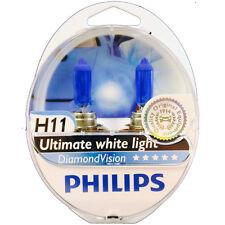 Philips Diamond Vision H11 Headlight Bulbs 12V 55W (Pair)