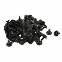Vehicle Ornament Black License Plate Radiator Screws 100pcs for Toyota