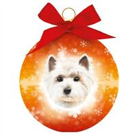 Dog Christmas Tree Decoration | WESTIE Bauble | Great Xmas Gift for Dog Lover