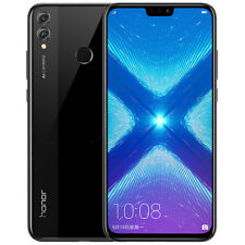 "Unlocked Huawei Honor 8X 64GB 6.5"" Dual Sim 4G LTE Android 8.0 Smartphone Black"