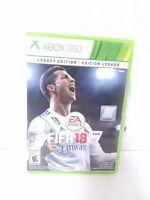 FIFA 18: Legacy Edition (Xbox 360, 2017)  CIB Tested Fast Shipping