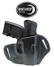 """Walther PPS M2 - 3.18"""" Barrel OWB Shield Holster Right Handed Black"""