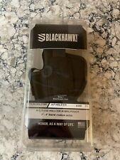 "Blackhawk Ambidextrous 3-4"" Semi-auto Holster w/ Mag Pouch 40AM01BK Size 1 New!"