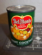 vintage Del Monte Toy Can, Fruit Cocktail, fun kids toy / vintage decoration