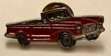 TRIUMPH HERALD 1200 RED CONVERTIBLE PIN BADGE