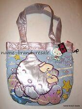 TORRID NWT HELLO KITTY Purse Bag Satchel NEW Embroidered Sequins Metallic Stars