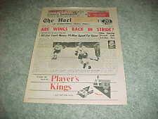 1967 The Hockey News Newspaper Magazine Chicago Blackhawks Bobby Hull Cover