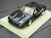 Hot Wheels 1:18 RARE 23922 Ferrari Testarossa F512M 1994 Black FACELIFT TOY CAR