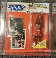 1993 Micheal Jordan Starting Lineup w/ GEM Mint 10 Bonus Cards 23k Gold Fleer