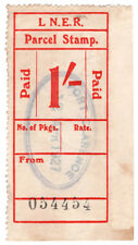 (I.B) London & North Eastern Railway : Parcel Stamp 1/- (Port Clarence)