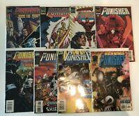 Lot of 8 Punisher Volume 3 #2 3 4 5 6 7 8 14 Marvel Comics (1995-1996)