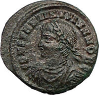 CONSTANTINE II Jr. Constantine the Great son Ancient  Roman Coin GATE  i21796