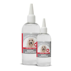 Peake Petcare ColourFree Ear Cleaner FOR REMOVAL OF WAX, DIRT, YEAST