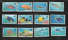 FISHES OF MAURITIUS.DEFINITIVE  FULL SET. USED