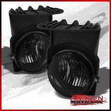 Fits Smoke 03-06 GMC Sierra Bumper Fog Lights Lamps+Bulbs Pair Left+R