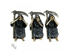 Nemesis Now  set of 3 Wise Evil Reapers