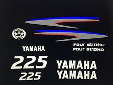Yamaha Outboard  Decal Kit 225  hp 4 Stroke Kit - Marine Vinyl not ink-jet