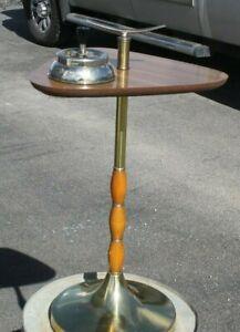 Vintage Mid Century Modern Smoking Pedestal Floor Stand Ashtray