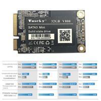 "Vaseky 1.8"" 128GB SSD Festplatte Solid State Drive mSATA 3 für Desktop Laptop PC"