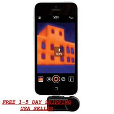 NEW SEEK THERMAL EXTENDED RANGE INFARED THERMAL IMAGER CAMERA-iOS APPLE DEVICES