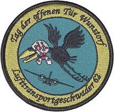 écusson à broder Armée de l'air Tag de ouvert Porte Wunstorf LTG 62 A2236
