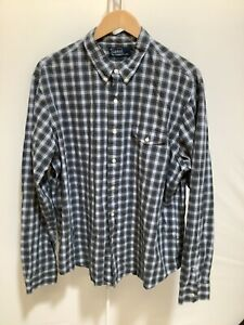 Mens Polo by Ralph Lauren Size XXL Patterned Check Long Sleeved Button Up Shirt