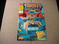 Stryfes Strike file #1 (1993, Marvel)