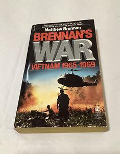 Brennan's War Vietnam 1965-1969- Matthew Brennan (1986 Paperback)-Pocket Book