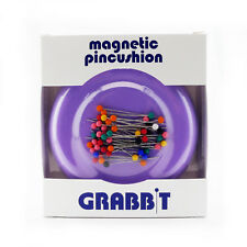 GRABBIT Lavender Magnetic Pincushion With Ball Head Pins
