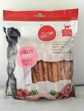 I.T.T. It's Treat Time Chicken Jerky & Rawhide Twist 500g Dog Treat