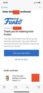 Tony The Tiger Funko - Frosted Flakes - SOLD OUT - Confirmed - Free Protector!