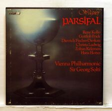 SOLTI, KOLLO, FRICK - WAGNER parsifal LONDON OSA 1510 5xLPs box EX++