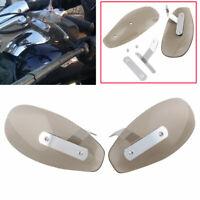 Smoked Handlebar Hand Guard Wind Deflector Protector Shield For Harley Yamaha