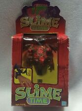 Vintage Hasbro Slime Time Digital Watch Spotted Toad Unused Open Box 1986 Manual
