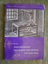 Zur Geschichte der Weber und Spinner von Nowawes - DDR 1965 Potsdam Babelsberg