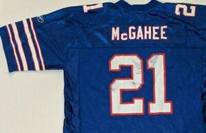 BUFFALO BILLS Willis McGahee Reebok NFL Equipment Men's Football Jersey(XL)