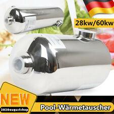 28 kW/60 kW ärmetauscher aus Edelstahl Schwimmbad Pool Schwimmbadwärmetauscher