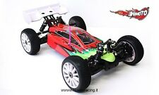 AUTO RADIOCOMANDATA ELETTRICA BRUSHLESS BUGGY SHOOTOUT 1/8 OFF-ROAD 4WD RTR
