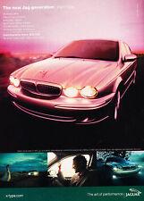 2002 Jaguar X-Type - Jag - Classic Vintage Advertisement Ad H01