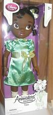 "DISNEY ANIMATORS  DESIGNER PRINCESS TODDLER  ""TIANA""  COLLECTOR DOLL"
