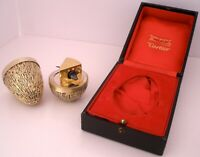 CARTIER STERLING FIGURAL SUPRISE EGG STUART DEVLIN MOUSE IN CHEESE IN THE BOX
